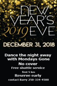 New Years Eve Party @ Whistlestop Pub