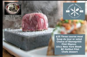 Dine Around The Comox Vally @ Whistlestop Pub | Courtenay | British Columbia | Canada